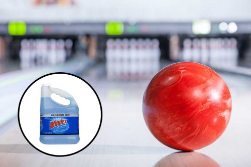 Can You Use Windex On A Bowling Ball?