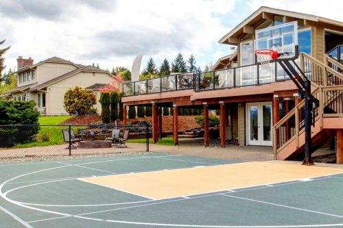 How Much Does It Cost To Put A Basketball Court In A Backyard?
