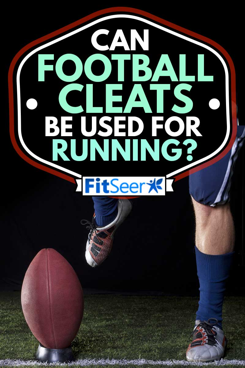 American Football Kickoff close-up photo. Athlete ready to kick the ball, Can Football Cleats Be Used For Running?