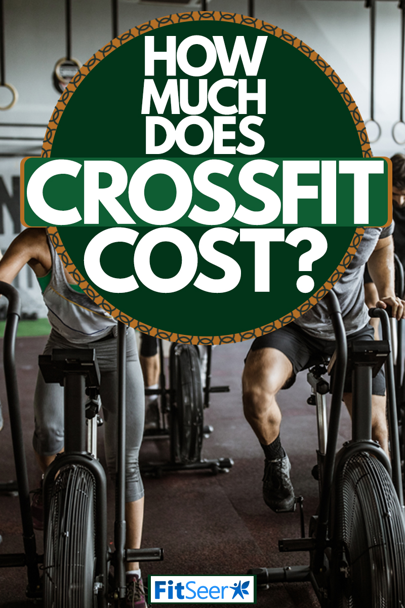 An Athletic group on exercise bikes working out harmoniously, How Much Does CrossFit Cost?