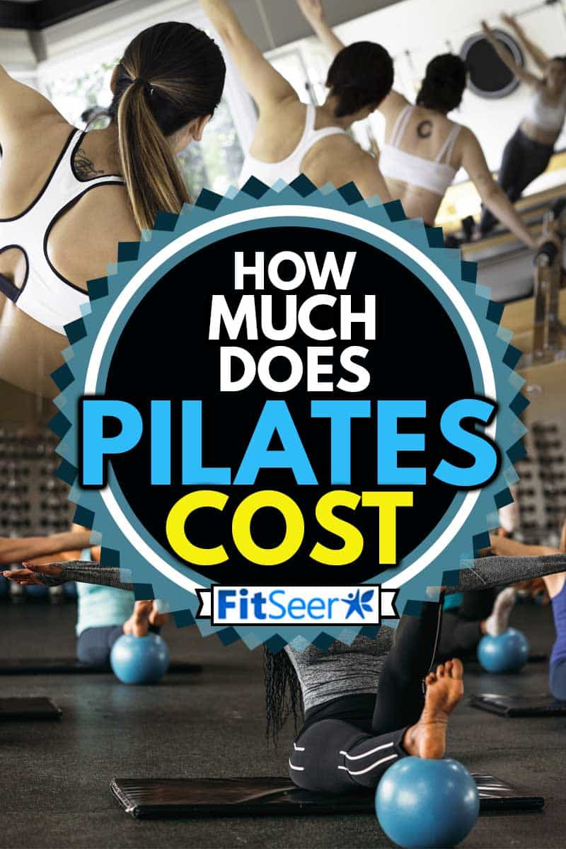 A collage of group of women attending pilates class, How Much Does Pilates Cost?