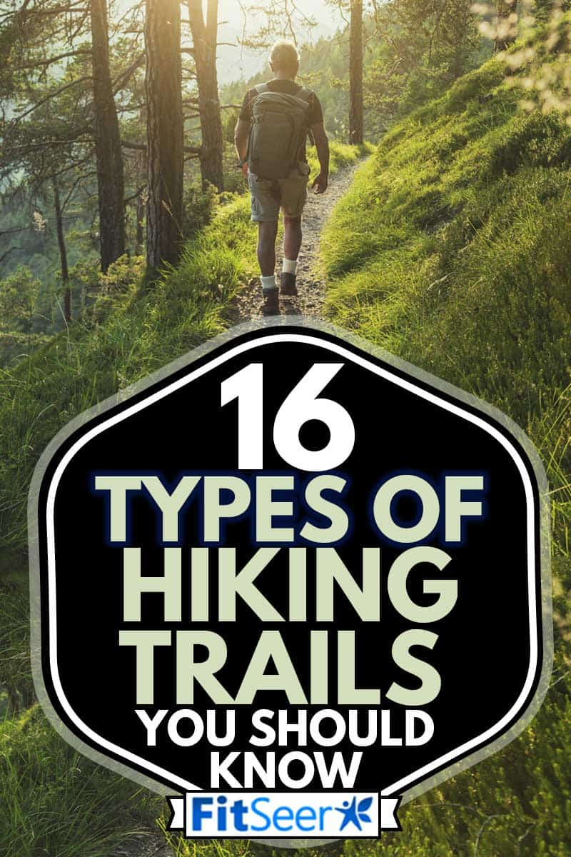 Senior man trail hiking in the forest at sunset, 16 Types Of Hiking Trails You Should Know