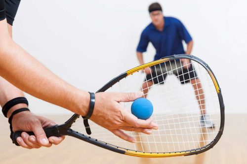 Who Serves First In A Game Of Squash?