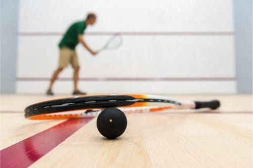 Can You Play Squash Alone?