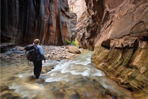 What To Wear Hiking The Narrows In Zion National Park
