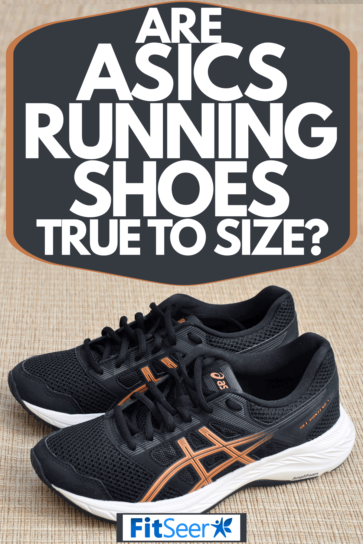 Women's black & peach ASICS running shoes, Are Asics Running Shoes True To Size?