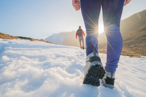 Are Hiking Boots Good For Snow?