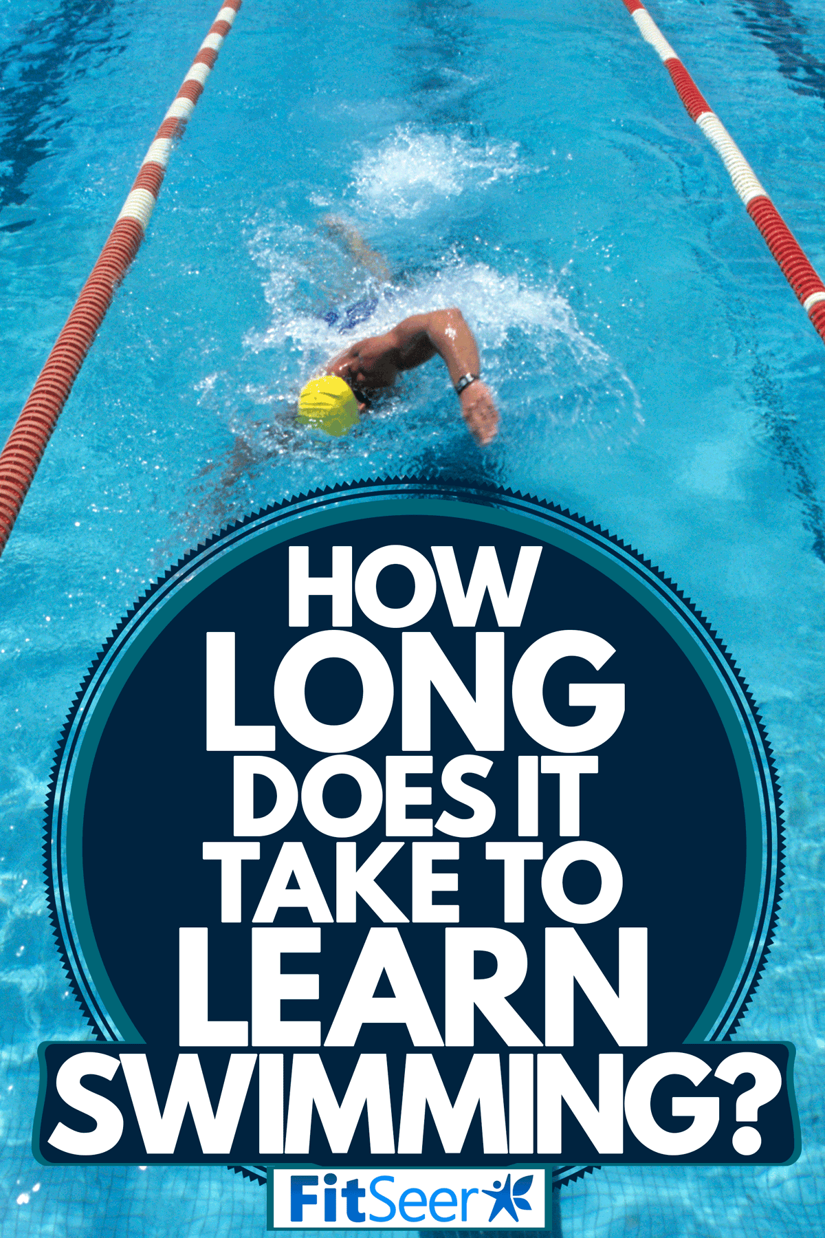 A swimmer using his skills on the swimming pool, How Long Does It Take To Learn Swimming?