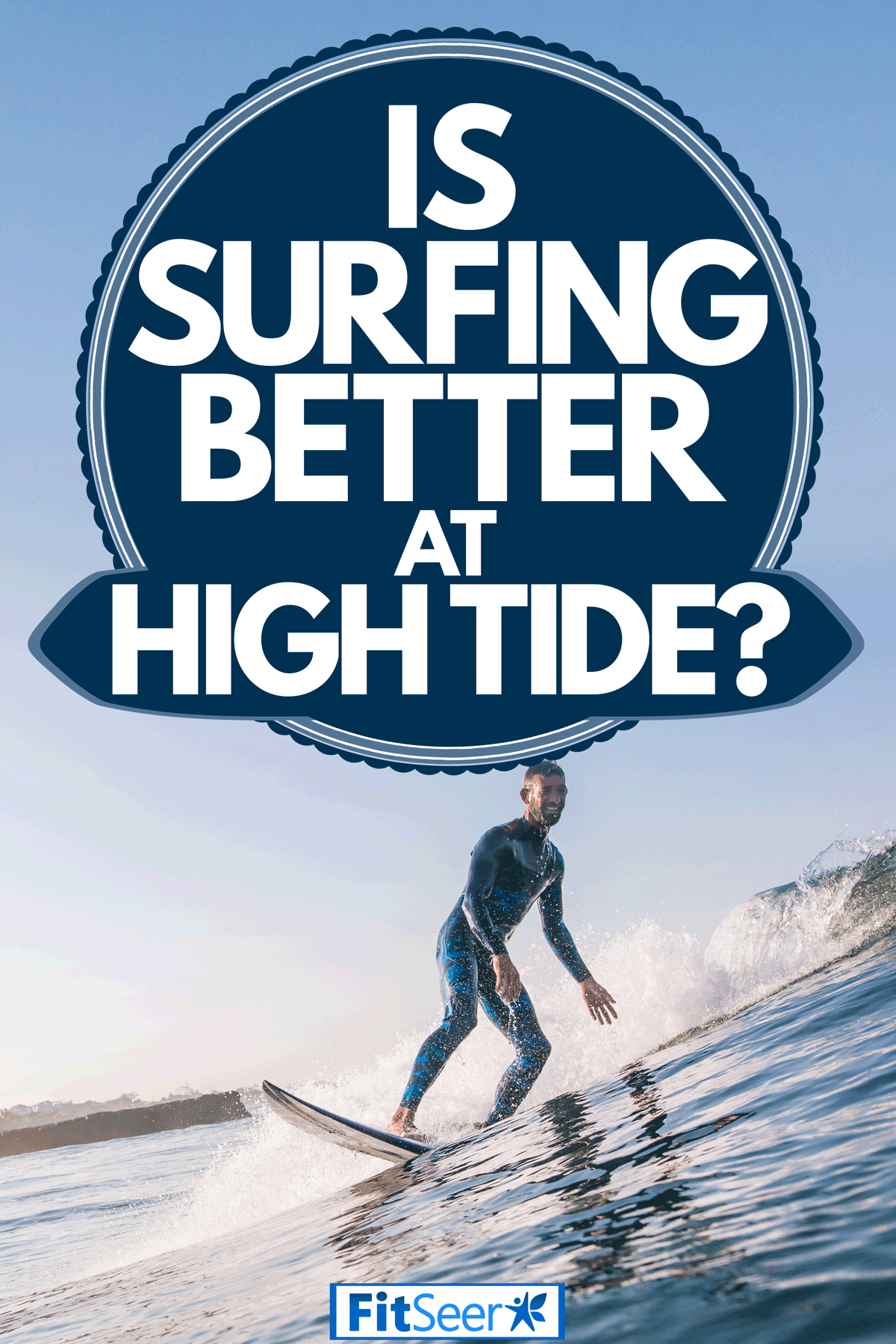 A young surfer riding a small wave on a bay, Is Surfing Better At High Tide?