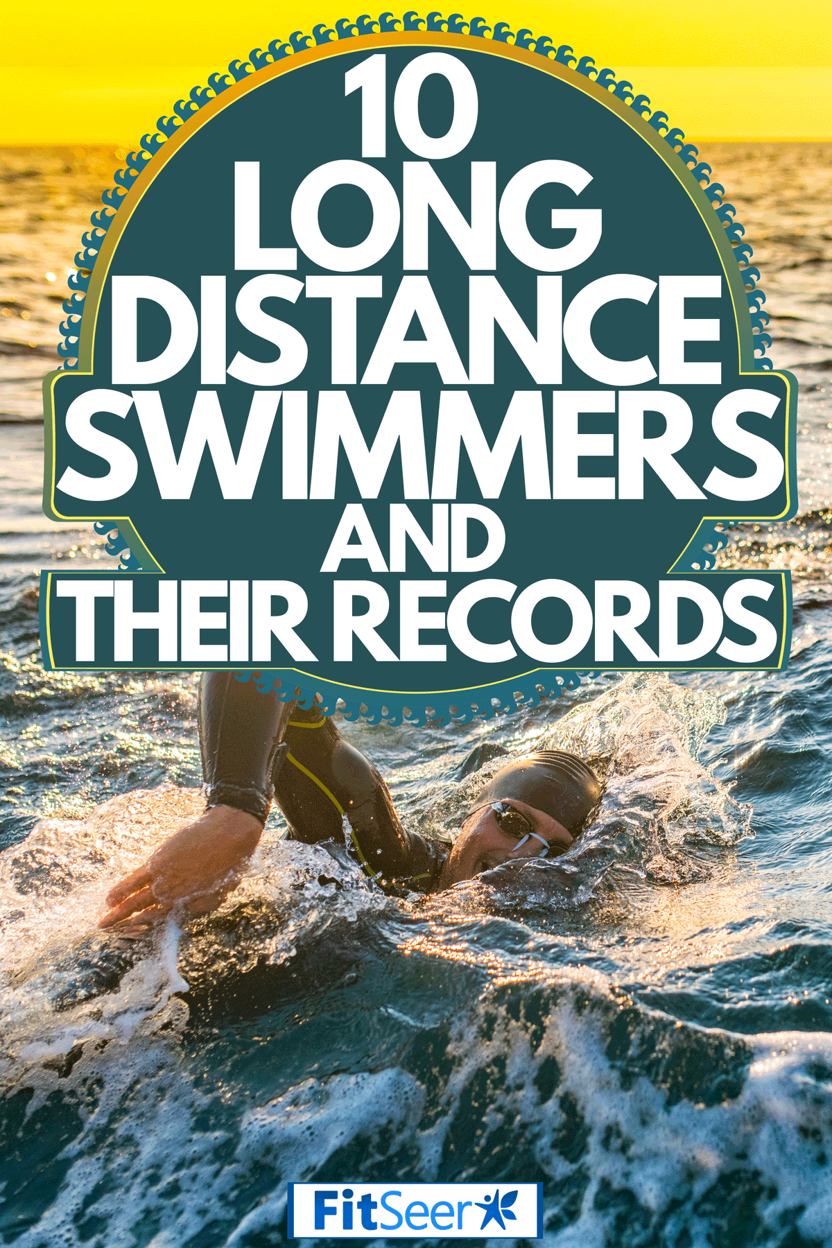 Two triathlete competing and swimming on open waters, 10 Long Distance Swimmers And Their Records