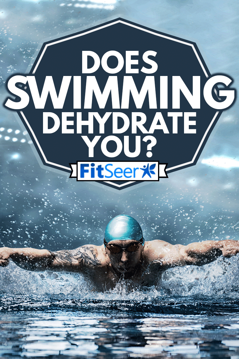 Man swimming with breaststroke, Does Swimming Dehydrate You?