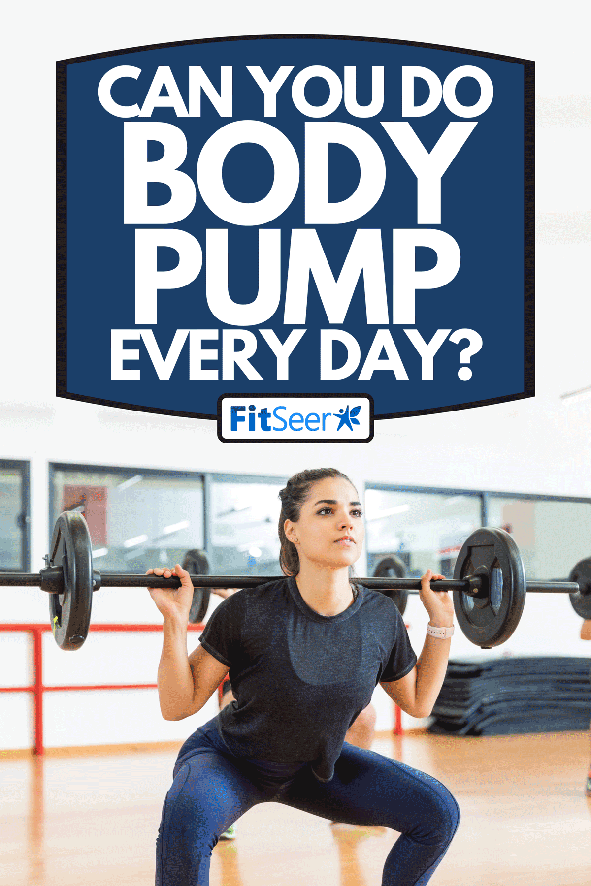 A dedicated female client exercising with barbell in health club, Can You Do Body Pump Every Day?
